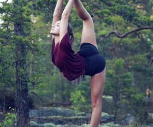 fitness, yoga, and nature image