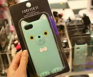 case, cat, and iphone image
