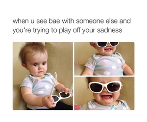 funny, bae, and baby image
