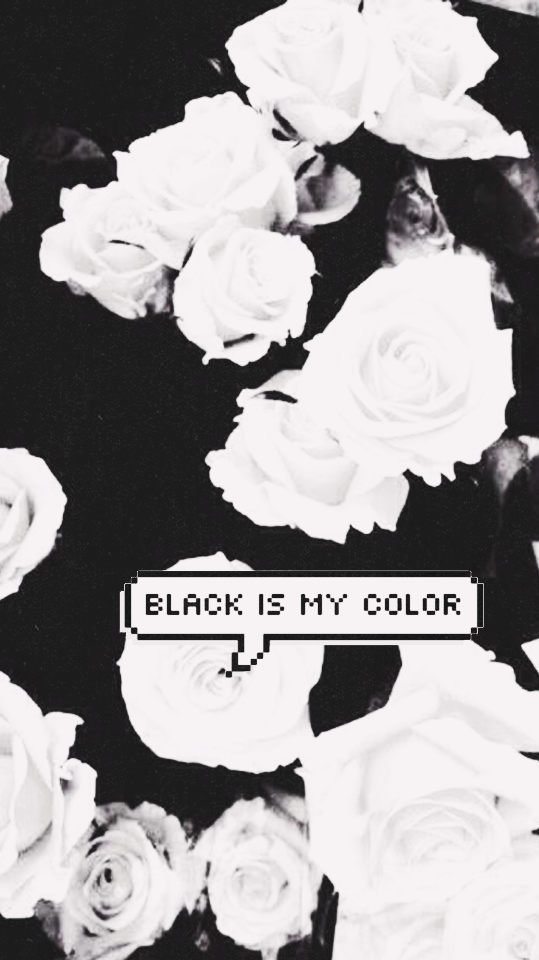 Black Is My Color Shared By Kimberlyiero On We Heart It