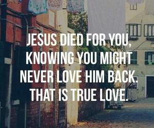 jesus, love, and true love image