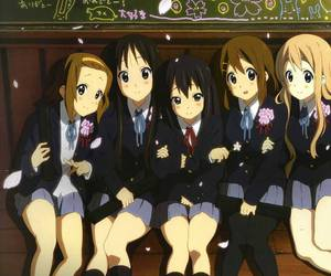 anime, k-on, and friends image