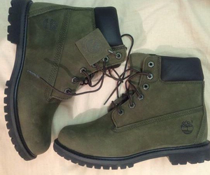 timberland and olive green image
