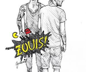 zayn malik and louis tomlinson image
