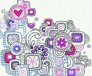 doodle, art, and draw image