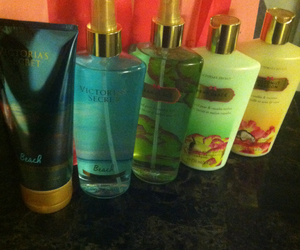 secret, victoria, and lotions image