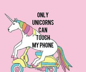 unicorn, wallpaper, and phone image