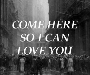 black&white, I Love You, and illustration image