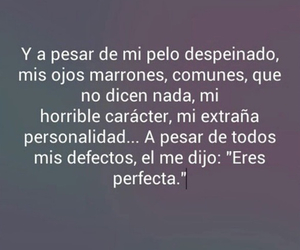 love, frases, and perfecta image