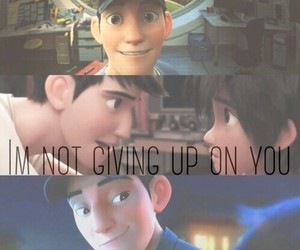 big hero 6 and tadashi image