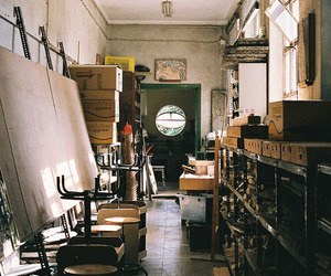 vintage, art, and room image