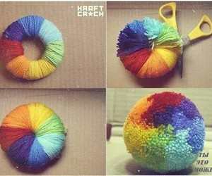diy, rainbow, and ideas image