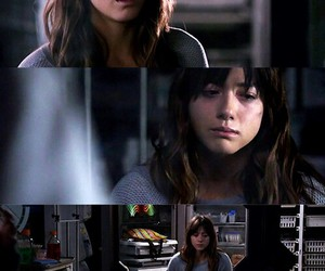 skye, agents of shield, and chloe bennet image