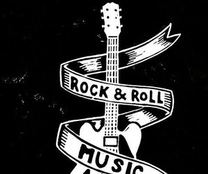 music, rock n roll, and rock image