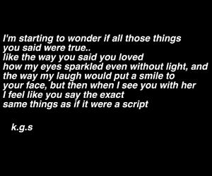 poem, quote, and broken image