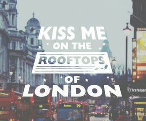 london, wallpaper, and kiss image