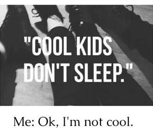 cool, sleep, and kids image