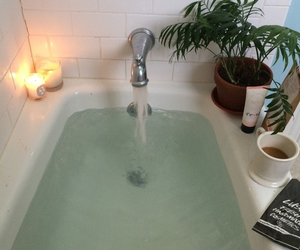 bath, aesthetic, and green image