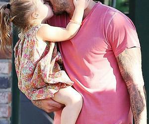 David Beckham, harper, and kiss image