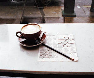 coffee, vintage, and cafe image