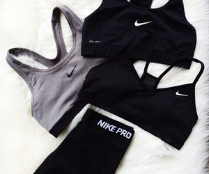 nike, fitness, and black image