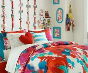 home style, interior design, and girly bedroom image