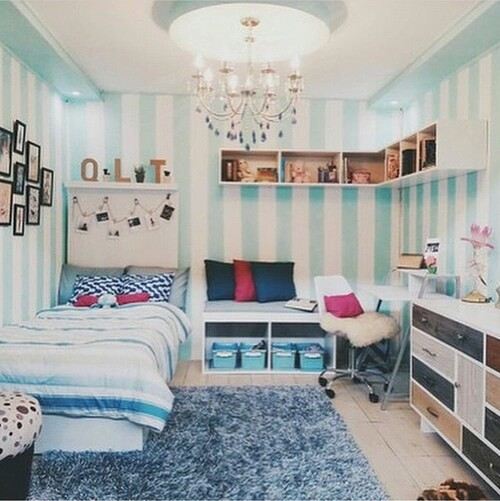 home decor, interior design, and cute bedrooms image