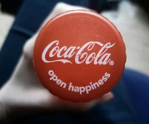 coca cola, drink, and happiness image