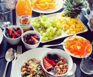 healthy, breakfast, and fitness image