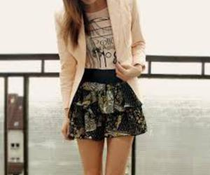 fashion, skirt, and outfit image