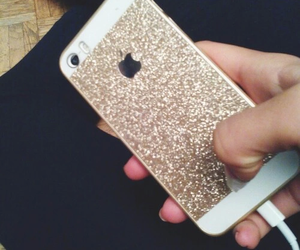 glitter and iphone image