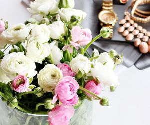 flowers, peonies, and beauty image