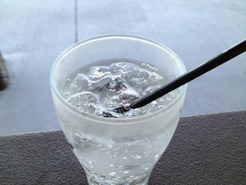 drink, water, and ice image