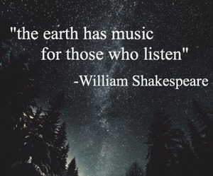 earth, music, and quote image