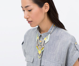 accessories, necklace, and Zara image