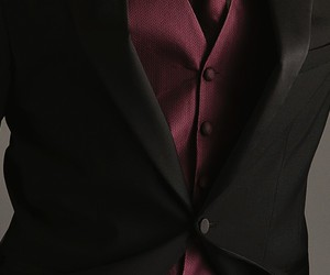 suit and black image