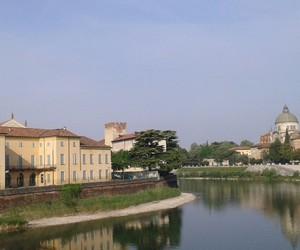 bridge, landscape, and verona image