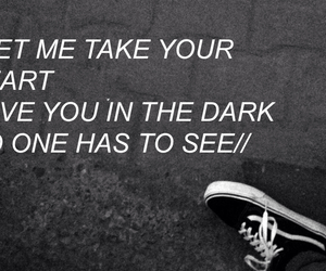 black and white, feelings, and quotes image