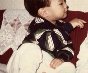 baby, siwon, and super junior image