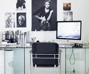 interior, design, and desk image