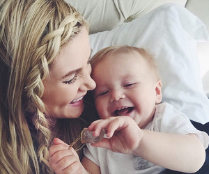 amber, baby, and blonde image