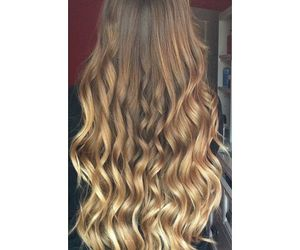 hair, curls, and ombre image