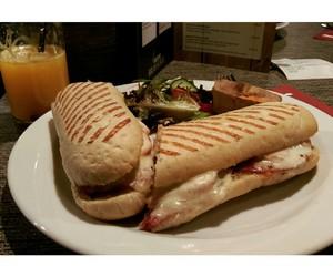 bread, food, and italian image