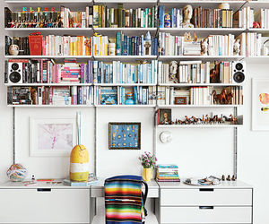 book, colors, and room image