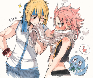 fairy tail, nalu, and natsu dragneel image