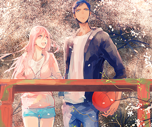 anime, anime couple, and momoi image