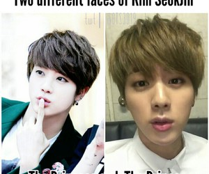 jin, meme, and bts image