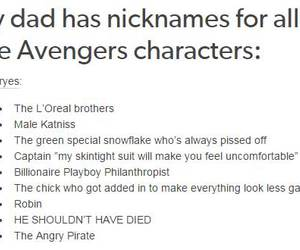 Avengers, Marvel, and funny image