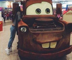 car, disney, and fashion image