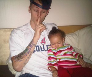 mgk and daughter image